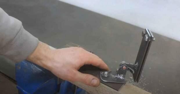 Самодельная направляющая для ручной ножовки