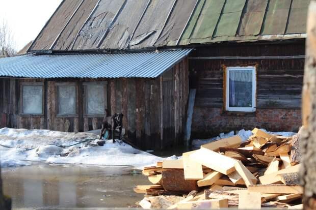 В Глазове из-за паводка эвакуировали 2 жителей