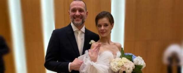 35-летняя Екатерина Шпица вышла замуж во второй раз