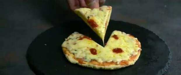 Фото к рецепту: Пицца за 5 минут