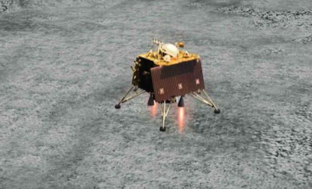 Пропавший лунный зонд связался со спутником и передал детальные фотографии