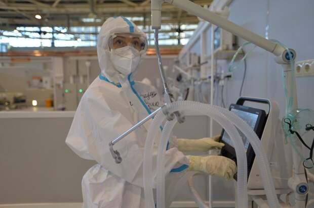 Госпитали для лечения пациентов с COVID-19 начали разворачивать в Подмосковье