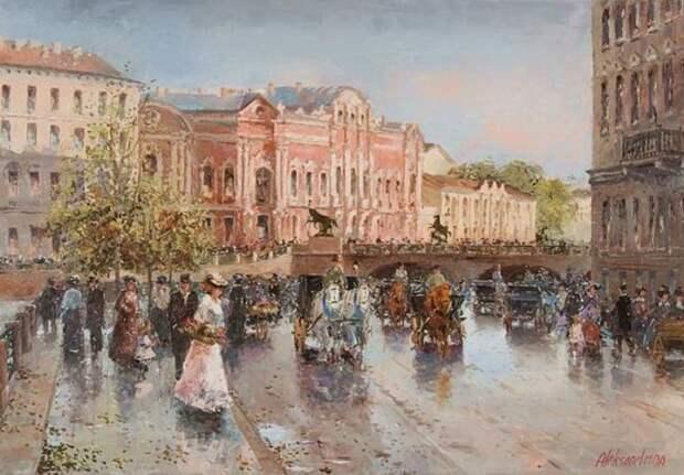 художник Ирина Александрина картины - 02