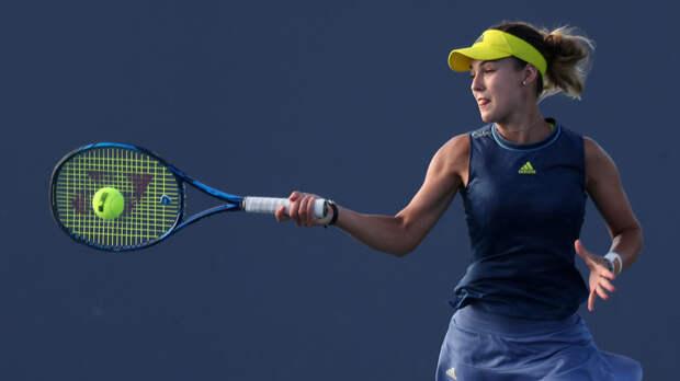 Калинская победила Младенович на старте турнира WTA в Белграде