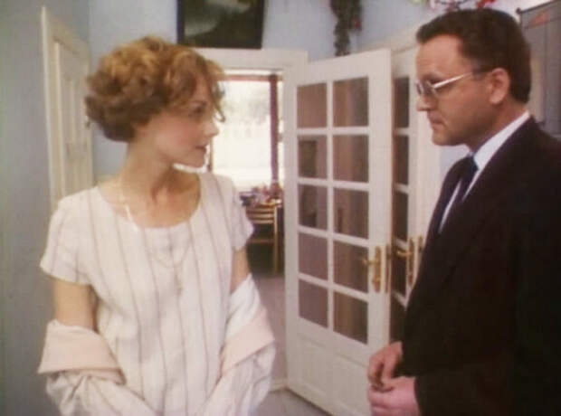 Николай Еременко и Ирина Феофанова в фильме  «Сын за отца», 1995 год