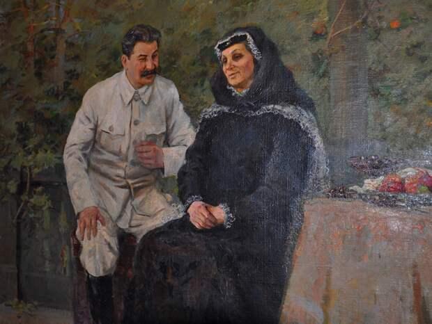 Между личным благом и благом страны, товарищ Сталин всегда выбирал второе