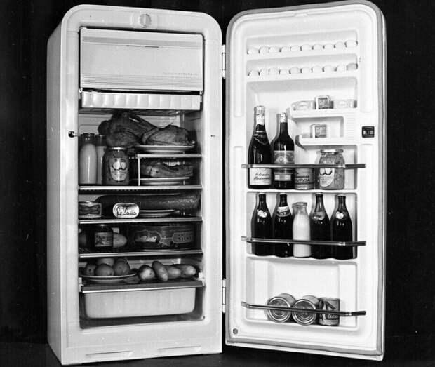Закрывающийся на ключ холодильник выступал гарантией того, что продукты останутся целыми / Фото: moskva.bt-technika.ru