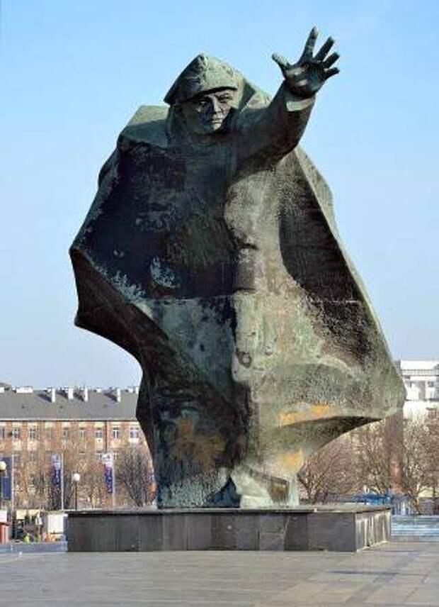 Памятник костюшковцам