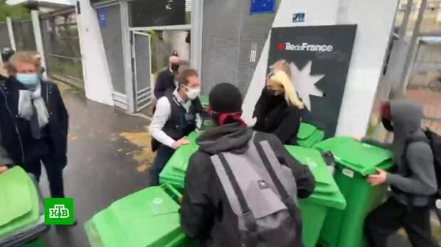 Школьники во Франции требуют отменить экзамены и устраивают протесты на улицах