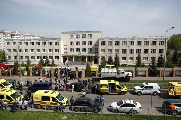 Стрельба в казанской школе произошла в день рождения директора