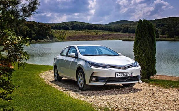 Обновленная Toyota Corolla — первый тест-драйв