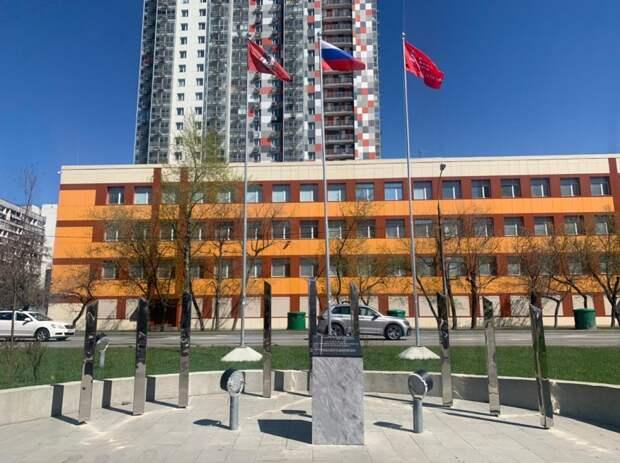 Мемориальные памятники в Митине привели в порядок