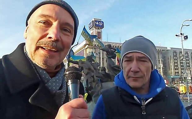 Горбунов во время Евромайдана