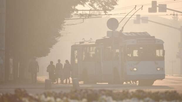 Троллейбус №7 в Симферополе временно ходит по другому маршруту
