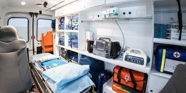 В аварии на Химкинском бульваре пострадала пассажирка автобуса