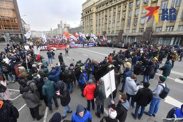 Марш памяти Бориса Немцова в Москве. Фото: Иван МАКЕЕВ