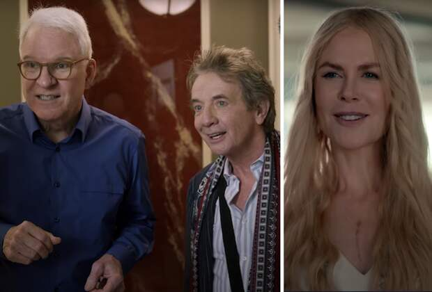 Martin/Short/Gomez Murders Mystery, Nicole Kidman's Nine Perfect Strangers Get Teasers and Hulu Release Dates