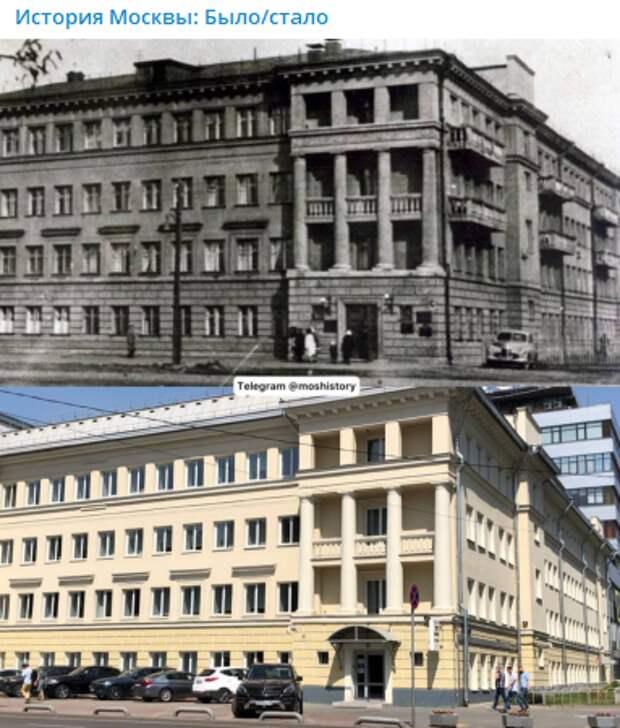 Фото дня: как изменилось здание на улице 8 Марта за 75 лет