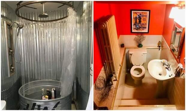 30 ванных комнат со странным и креативным дизайном