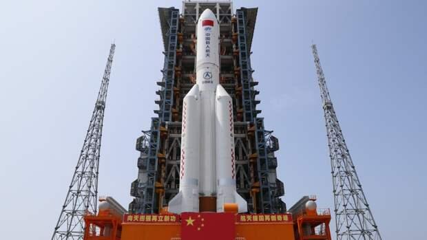 КНР готовится отправить на орбиту грузовой корабль «Тяньчжоу-2»