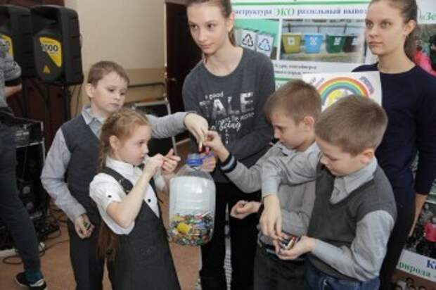 Более 5 тонн отработанных батареек собрали в Калужской области