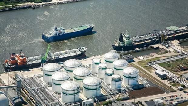 Первую партию американской нефти «Нафтан» получит ближе ксередине июня
