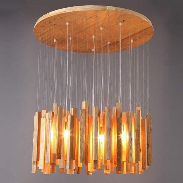 Лампа, которая станет украшением для дома и вдохновит на создание оригинального интерьера.