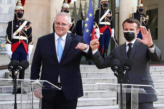 Австралия разорвала рекордный контракт по подлодкам с Францией