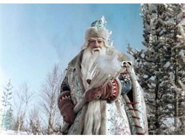 Атака на Деда Мороза, чем не угодил англо-саксам русский символ Нового года