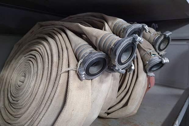 Открытое горение в цеху предприятия в Подмосковье ликвидировали