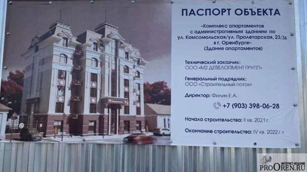 Прокуратура заставила отозвать разрешение настроительство многоэтажки вОренбурге