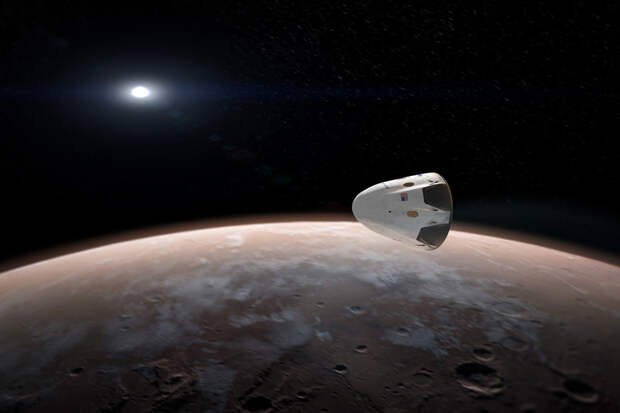 Радиация в полёте на Марс