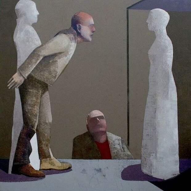 Эстонский художник. Juss Piho