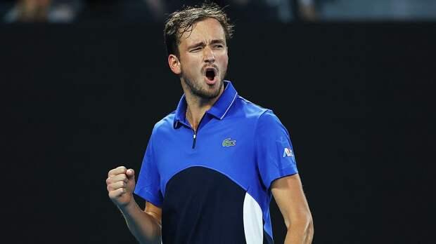 Медведев первым в истории обыграл первых трех ракеток мира на Итоговом турнире ATP
