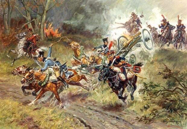 Артиллерия Великой армии Наполеона