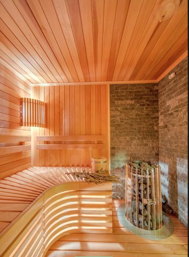 7 вариантов дизайна интерьера домашней сауны