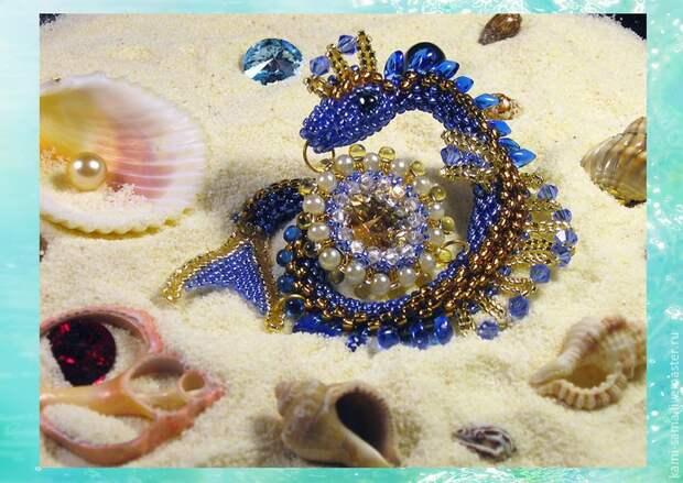 Мастер-класс плетём морского дракончика, фото № 37