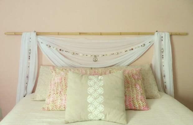 Для кровати без изголовья