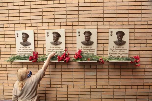 Видео: в Марьиной роще увековечили память о героях Великой Отечественной войны