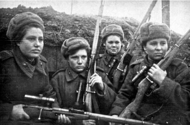 Почему женщины-снайперы воюют лучше мужчин
