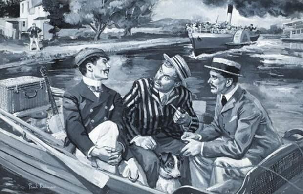 23 ироничные цитаты из повести «Трое в лодке, не считая собаки» произведения, цитаты, чтиво