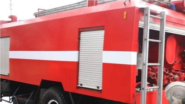 Петербургские спасатели потушили пожар в однокомнатной квартире на севере города