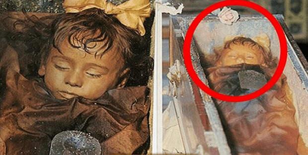 Мумифицированная девочка вот уже 97 лет выглядит как живая