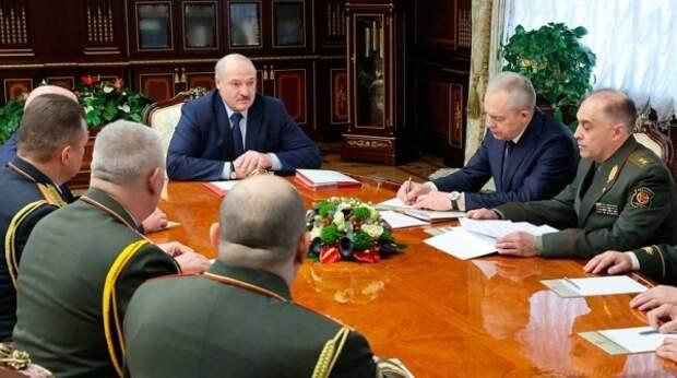 Лукашенко указал место начала войны за Белоруссию