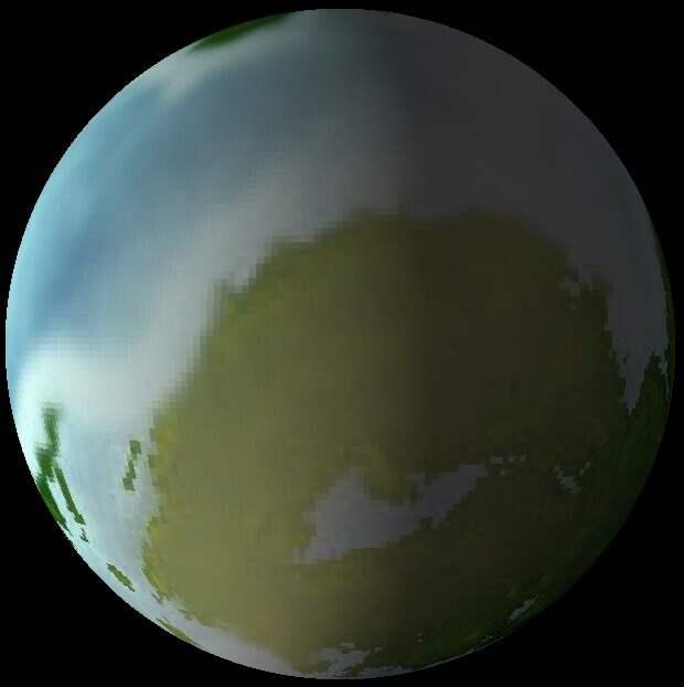 Согласно компьютерному моделированию, K2-72 e может выглядеть примерно так / © exoplanetkyoto.org