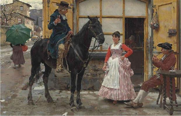 Картины художника XIX века, репродукции которых в наши дни стали играми-пазлами: Рафаэлло Сорби