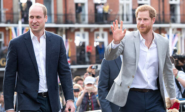 """Принц Гарри впервые прокомментировал слухи о ссоре с принцем Уильямом: """"Такие вещи неизбежны"""""""
