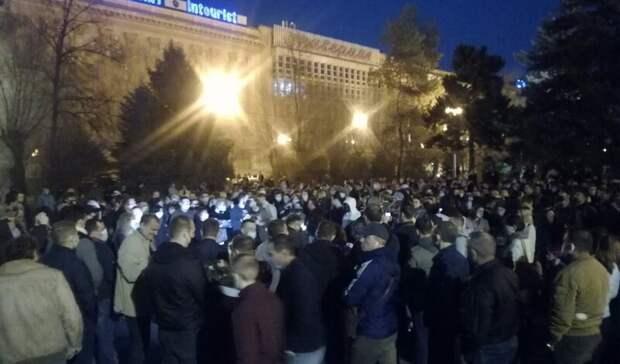 На 105 тысяч рублей оштрафовали участников митинга в Волгограде