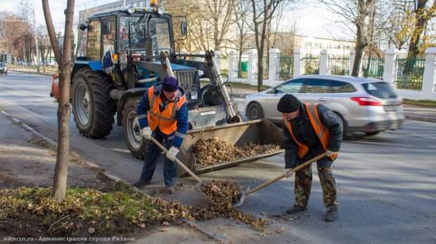 Уборка городских территорий продолжается в круглосуточном режиме