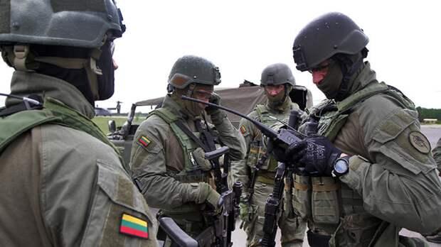 Жители Литвы возмущены проведением военных учений НАТО в стране